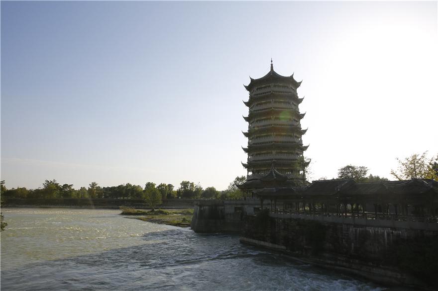 元通塔,建成于2018年10月