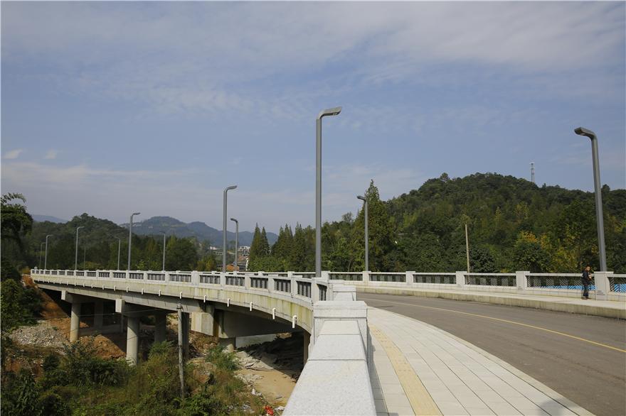 干五里河大桥,建成于2020年4月